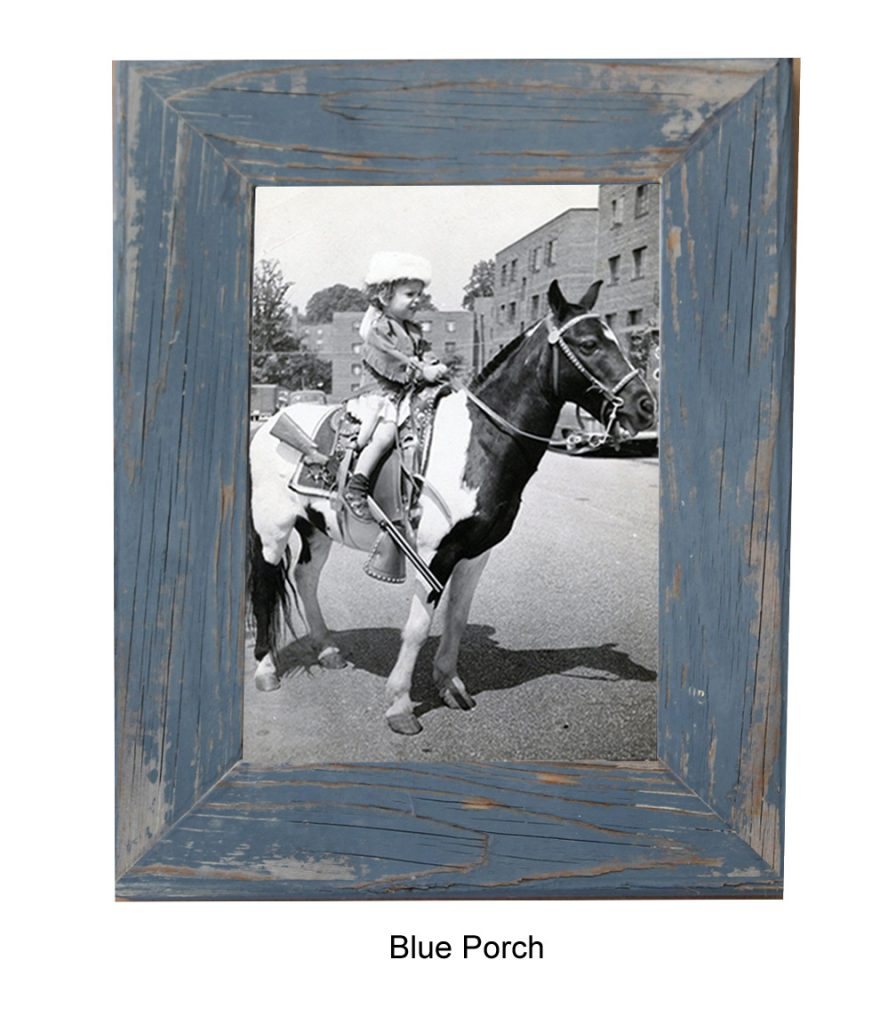 Blue Barnwood Photo Frame