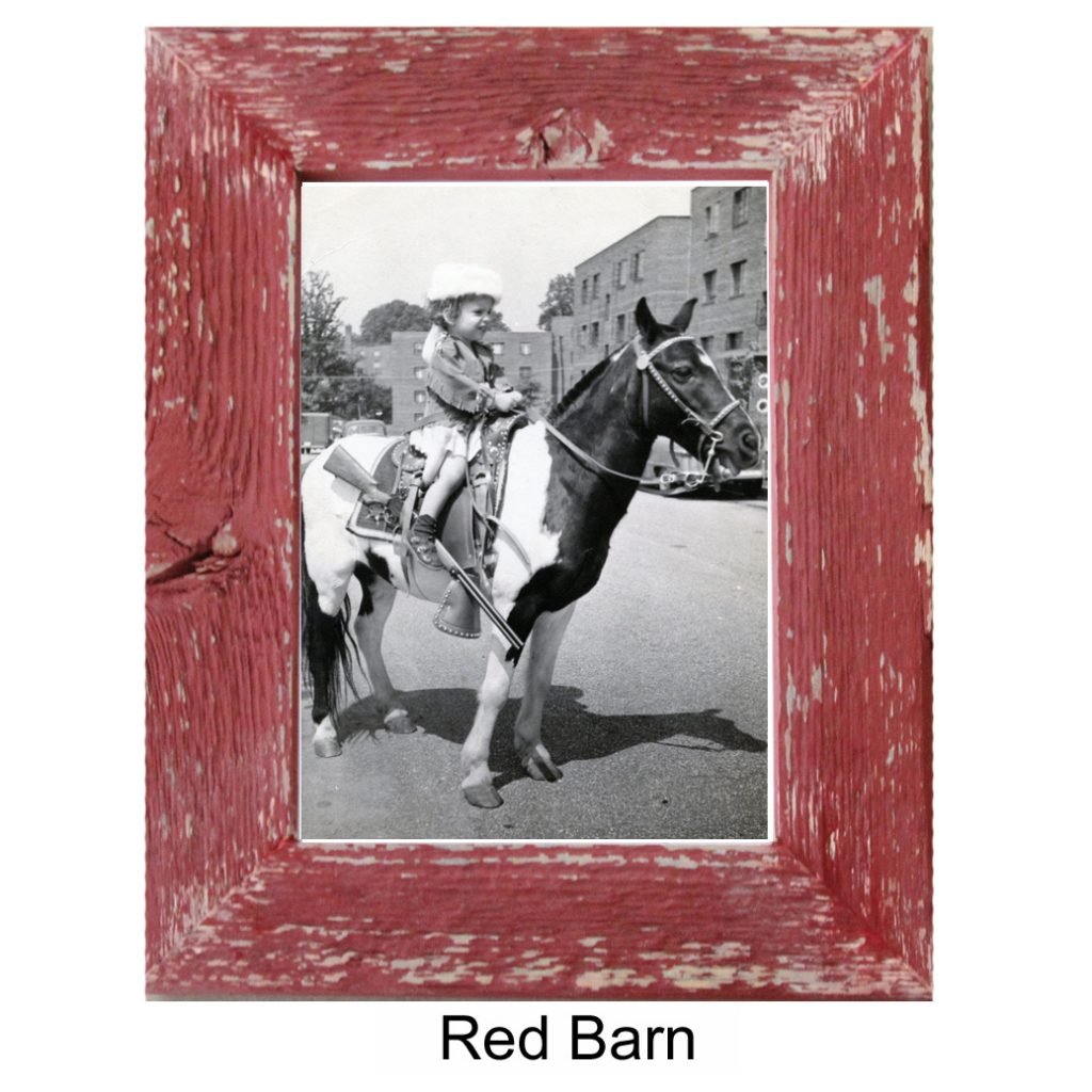 Red Barnwood Photo Frame