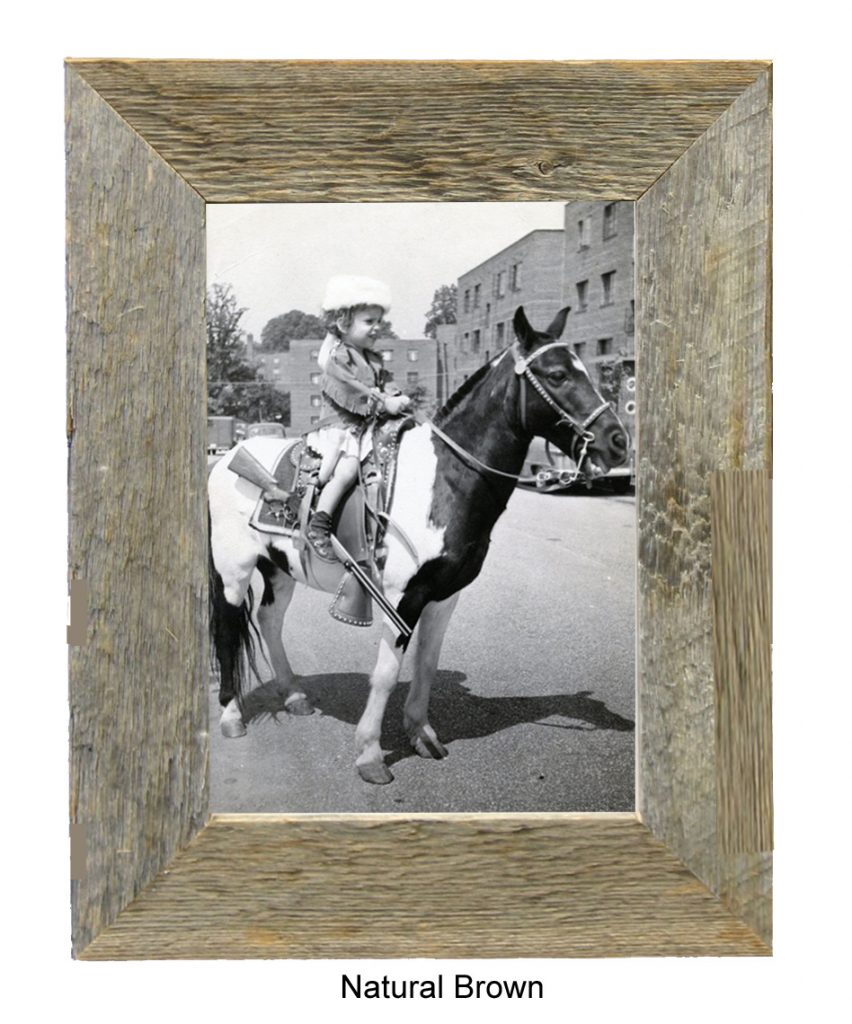 Natural Barnwood Photo Frame